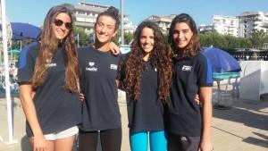 Rappresentativa Italia: Mascolo, Cavagnoli, Gailli, Menicucci