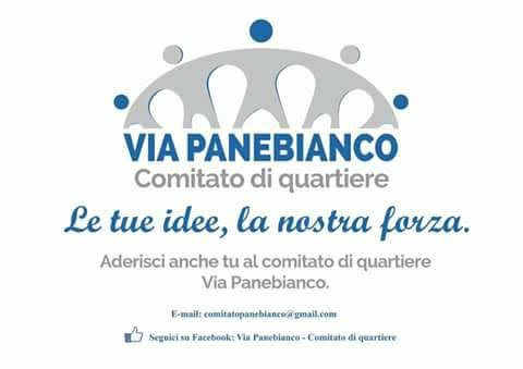 Comitato di Quartiere – Via Panebianco