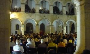 Conservatorio di Cosenza chiostro