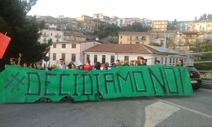Protesta comitato ambientale presilano 1