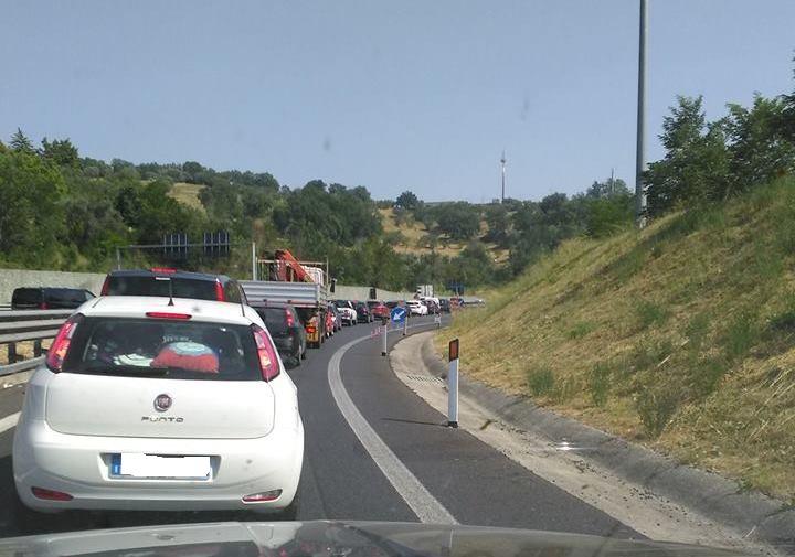 autostrada bloccata