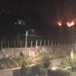 ore 21.45 le fiamme continuano PORTO SALVO