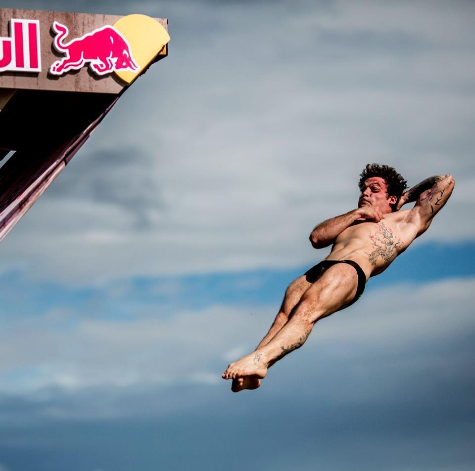 Alessandro De Rose, Cliff diving