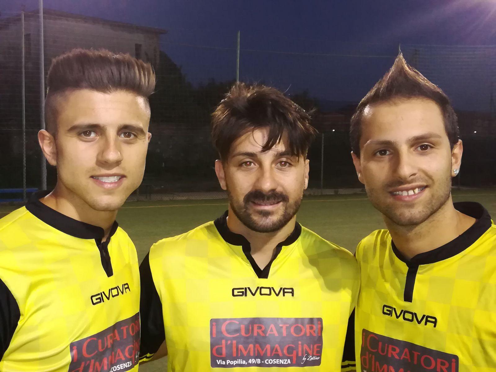 Cristian Fortino, Luca Potestio, Manuel Fortino