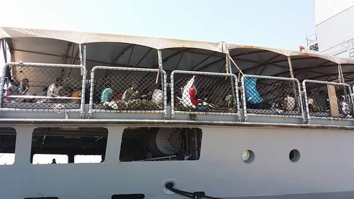 sbarco a Corigliano