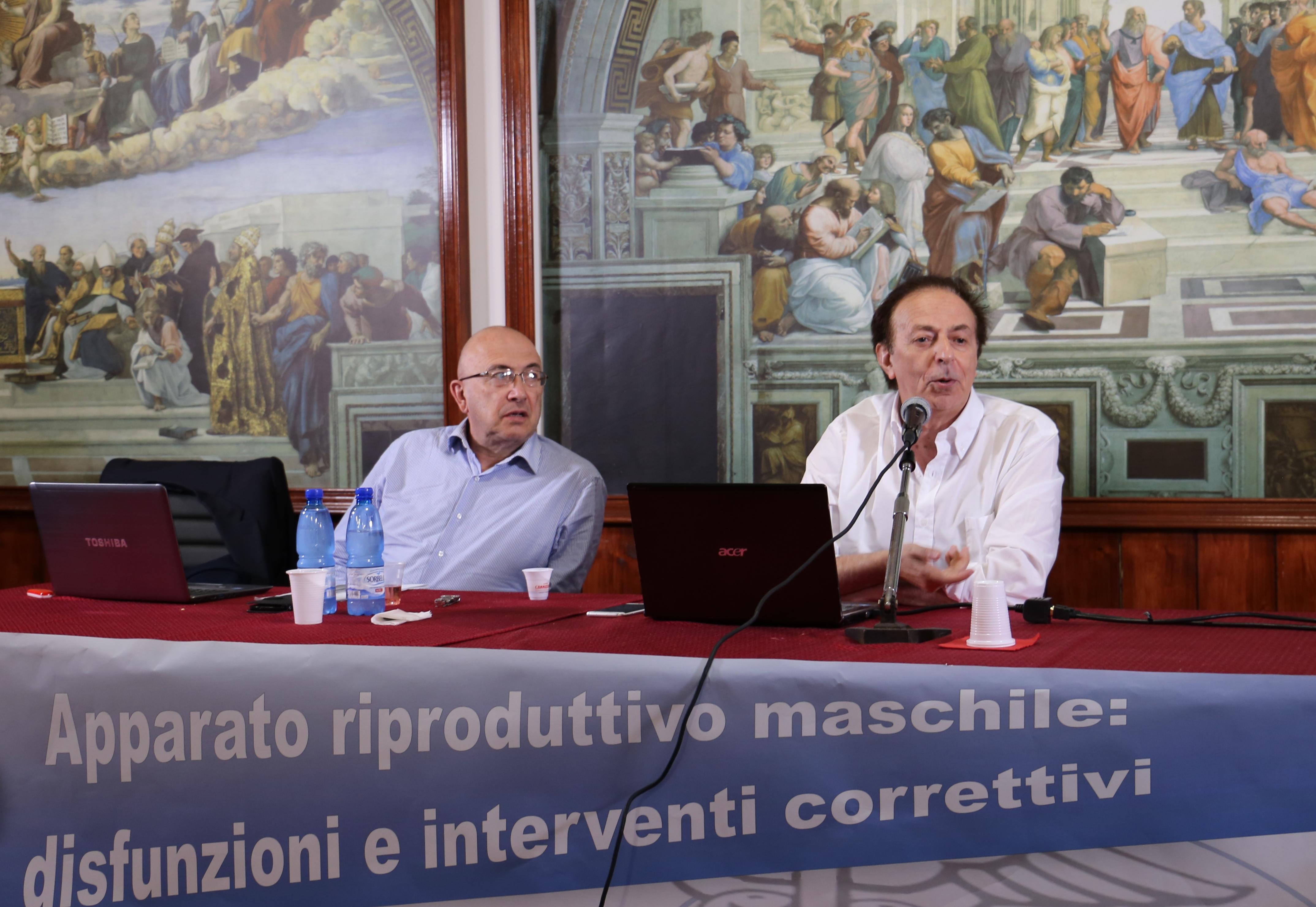 Roberto Morinilli e Giuseppe Tritto