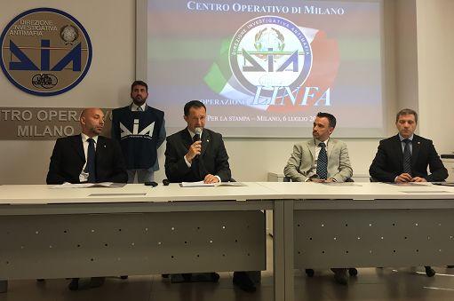 Droga/Blitz Dia Milano contro narcotraffico con sfondo 'ndranghetista
