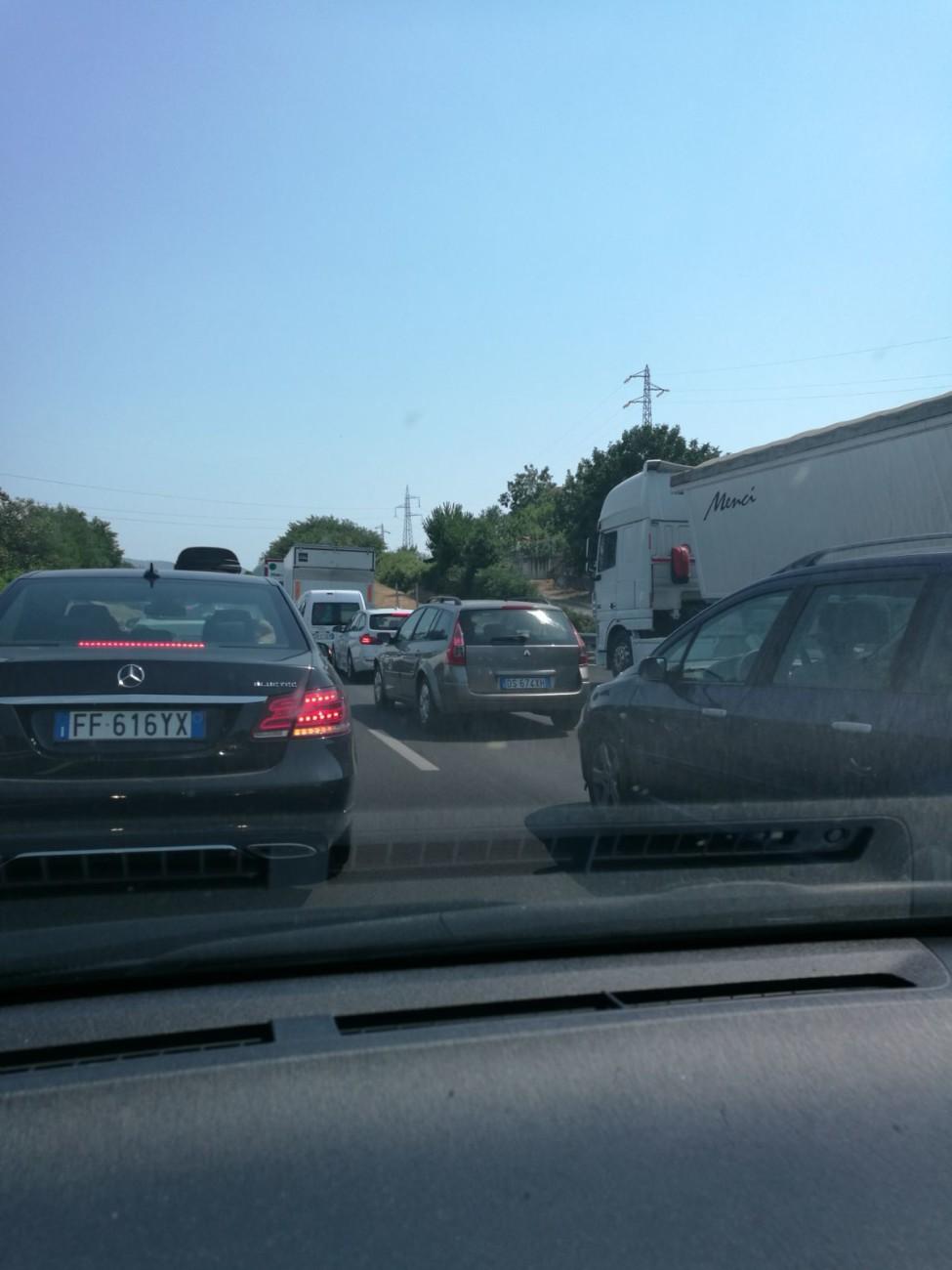 fila autostrada