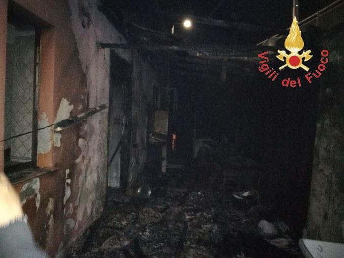 incendio ristorante Catanzaro