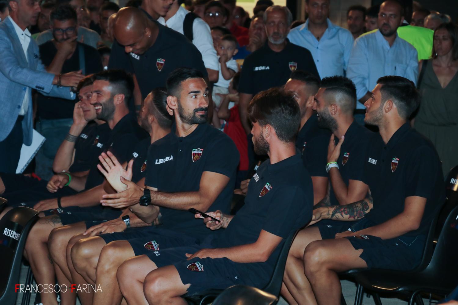 Presentazione Cosenza Calcio 2017