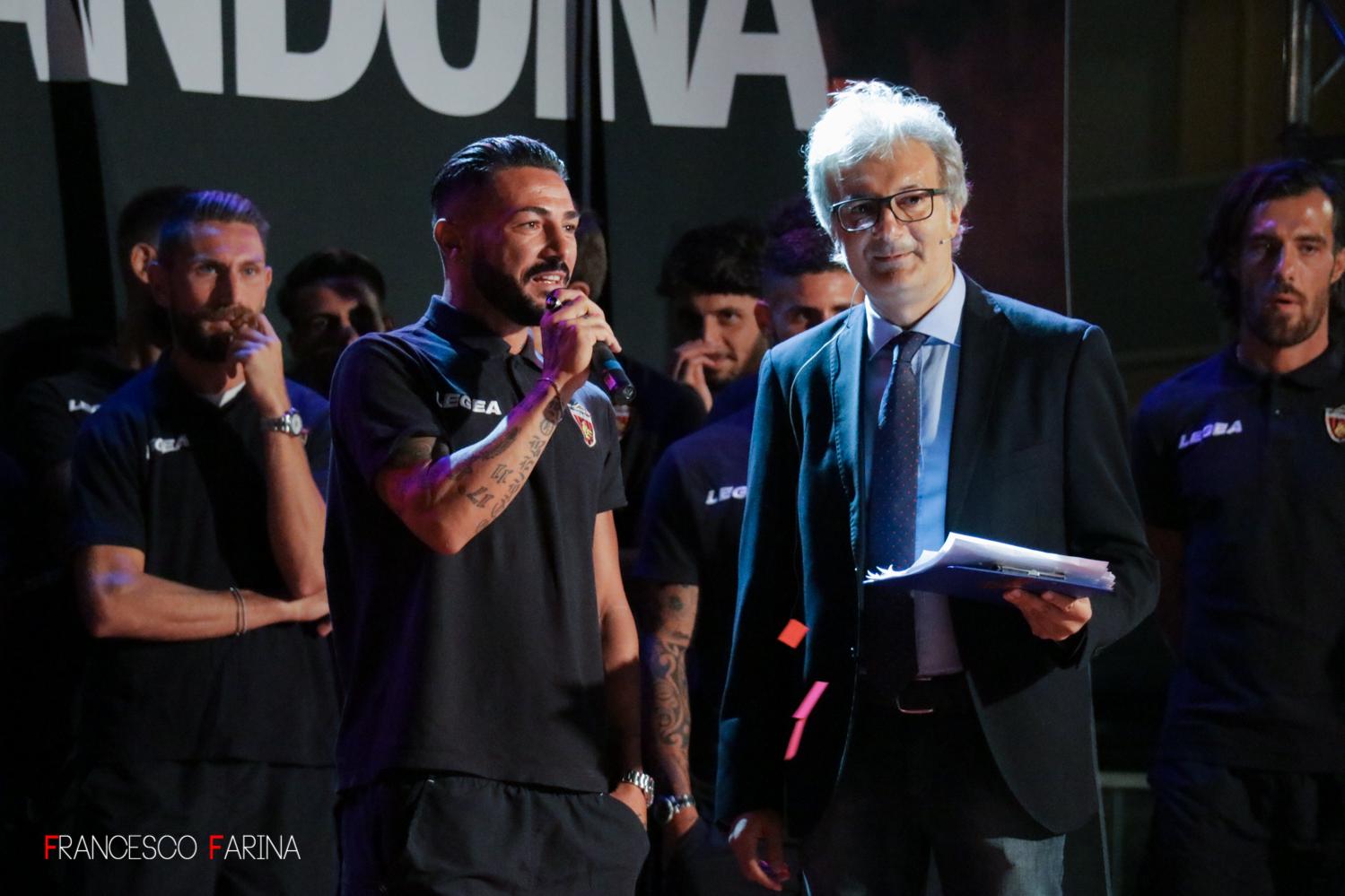 Giuseppe Caccavallo presentazione Cosenza Calcio 2017