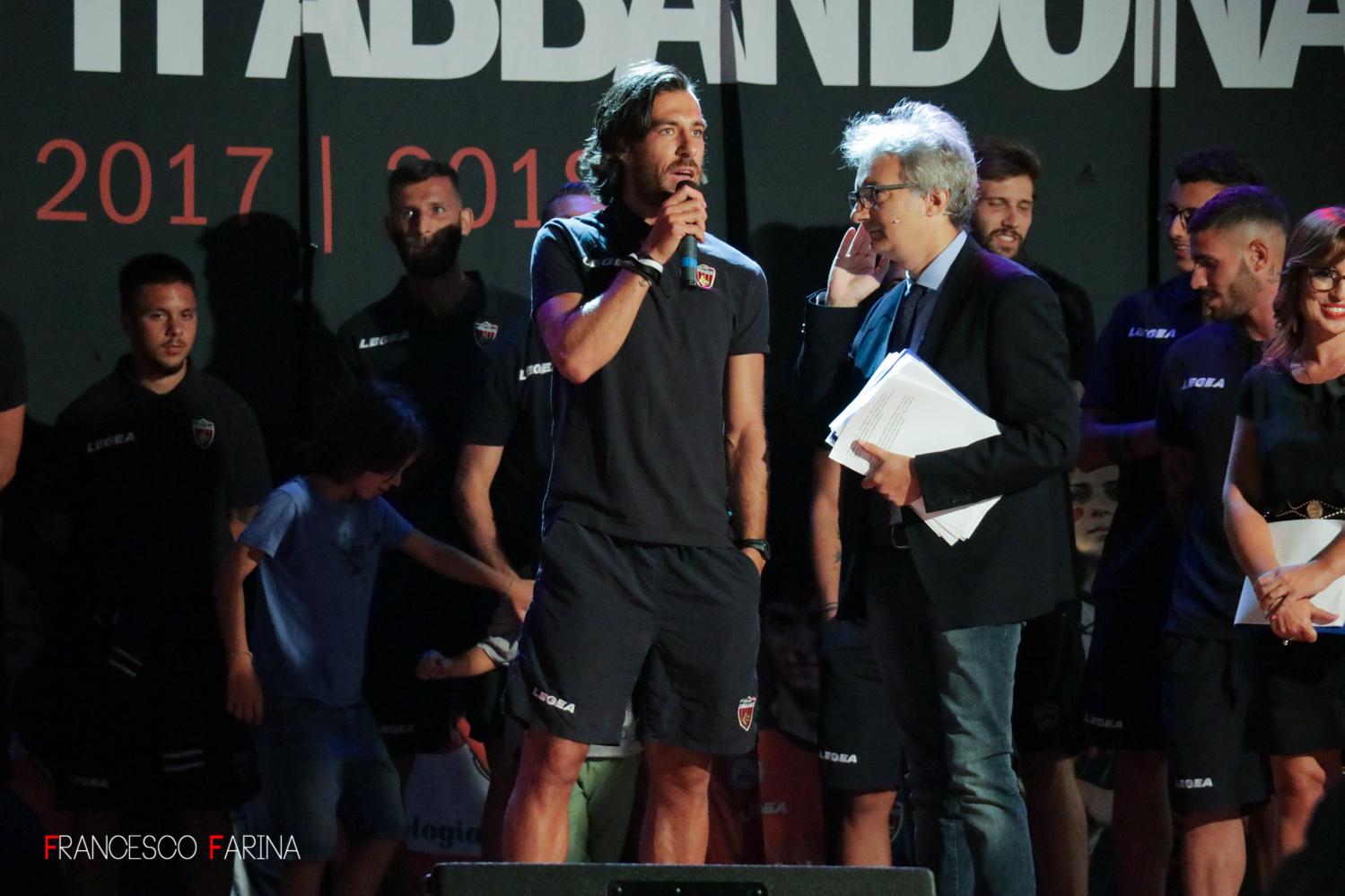 Manuel Pascali presentazione Cosenza Calcio 2017