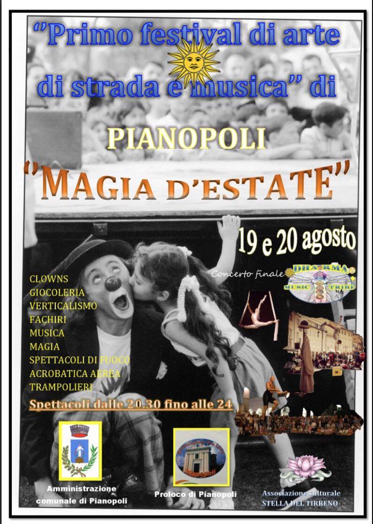 Magia d'estate a Pianopoli