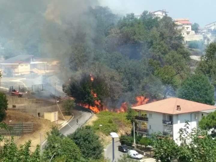 incendio marano marchesato