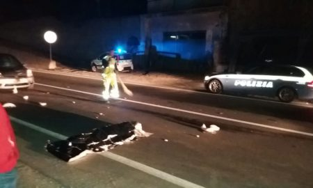 incidente a fuscaldo, incidente stradale