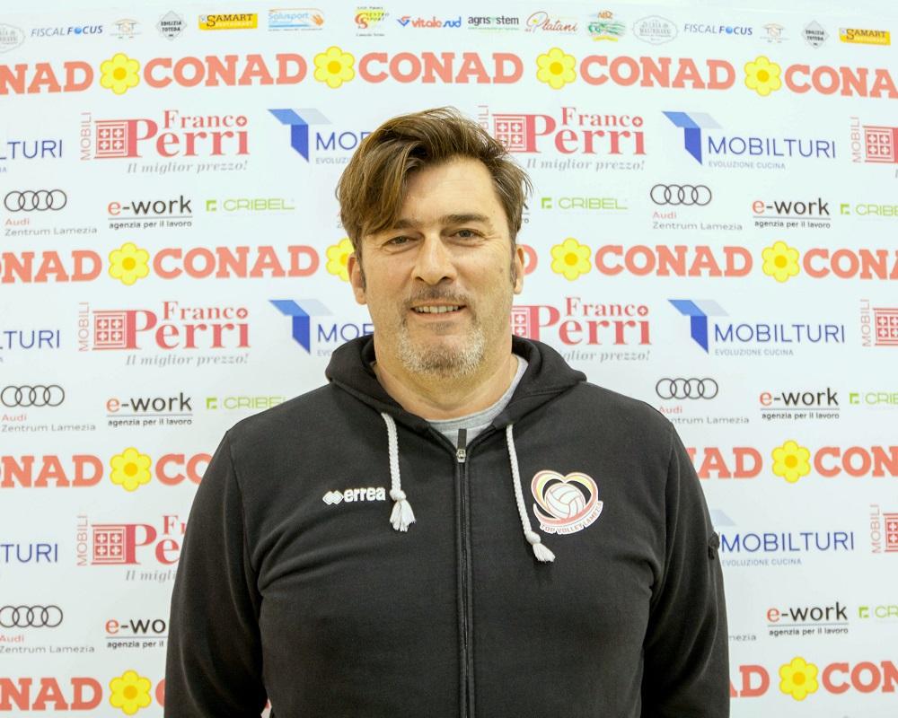 Allenatore Conad Lamezia – Vincenzo Nacci