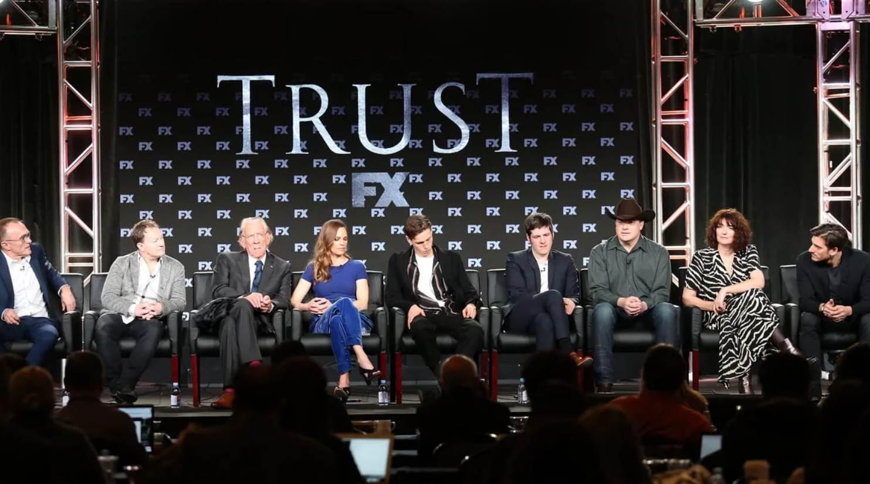 conferenza stampa presentazione ufficiale serie tv TRUST