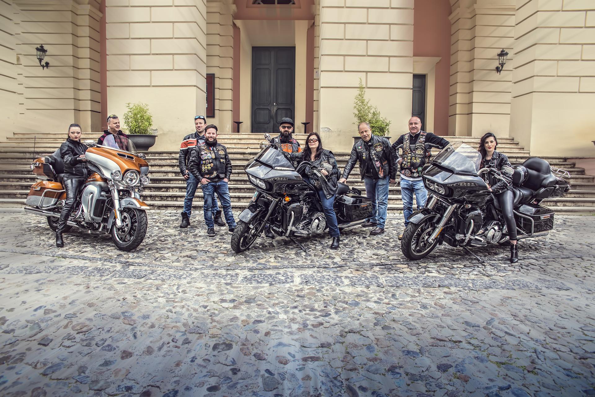 Le Harley Davidson che parteciperanno al Festival delle due ruote di Cosenza