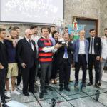 Cosenza in Serie B cerimonia