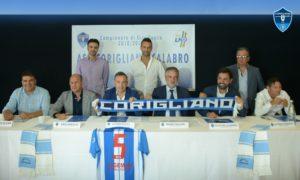 Conf. stampa presentazione Asd Corigliano -Cal. Calcio '18-2019