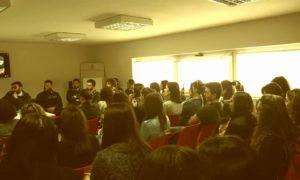 Gli universitari nella Caserma Sorrentino