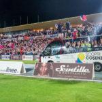 Tribuna B festeggiamenti Cosenza in Serie B