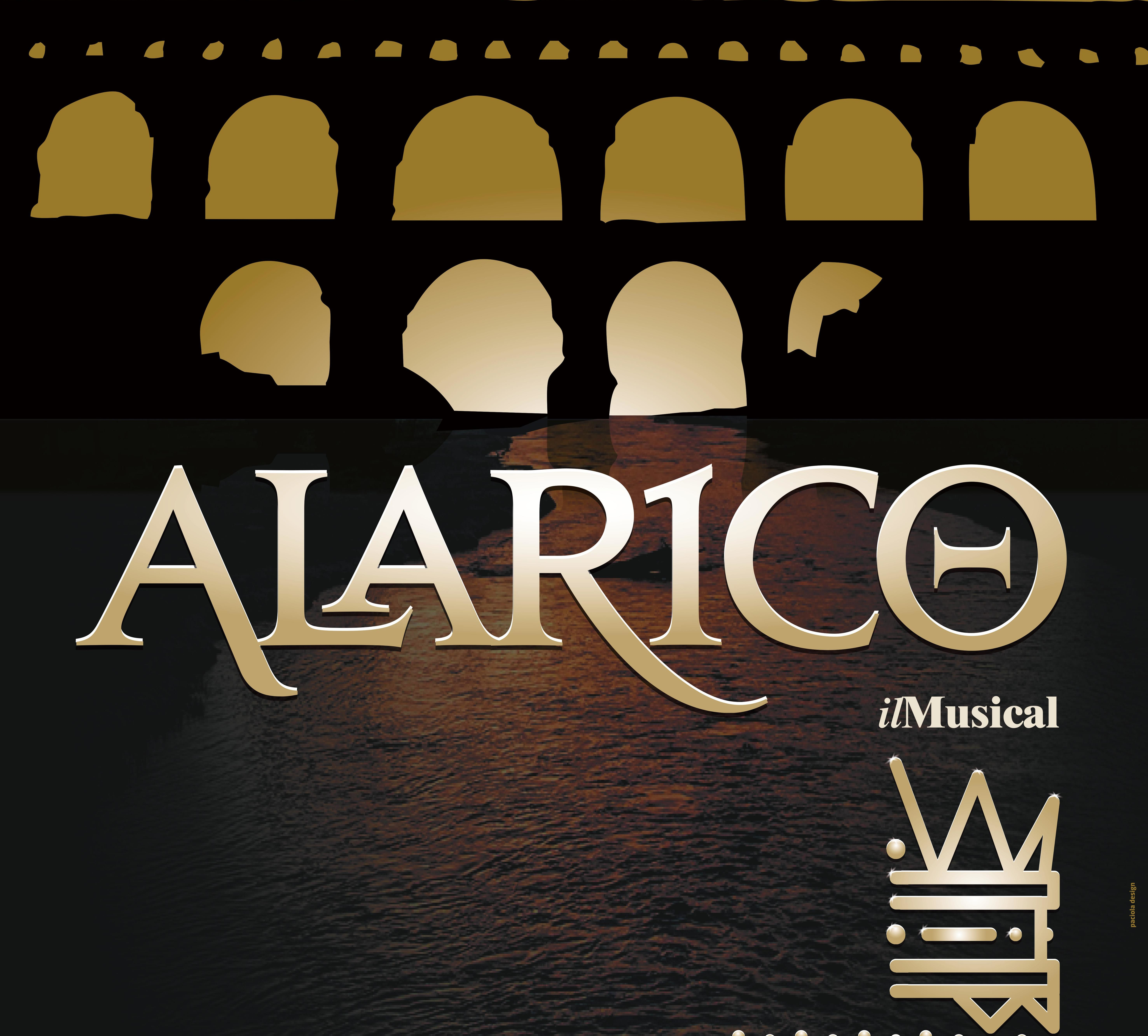 locandina Alarico il musical