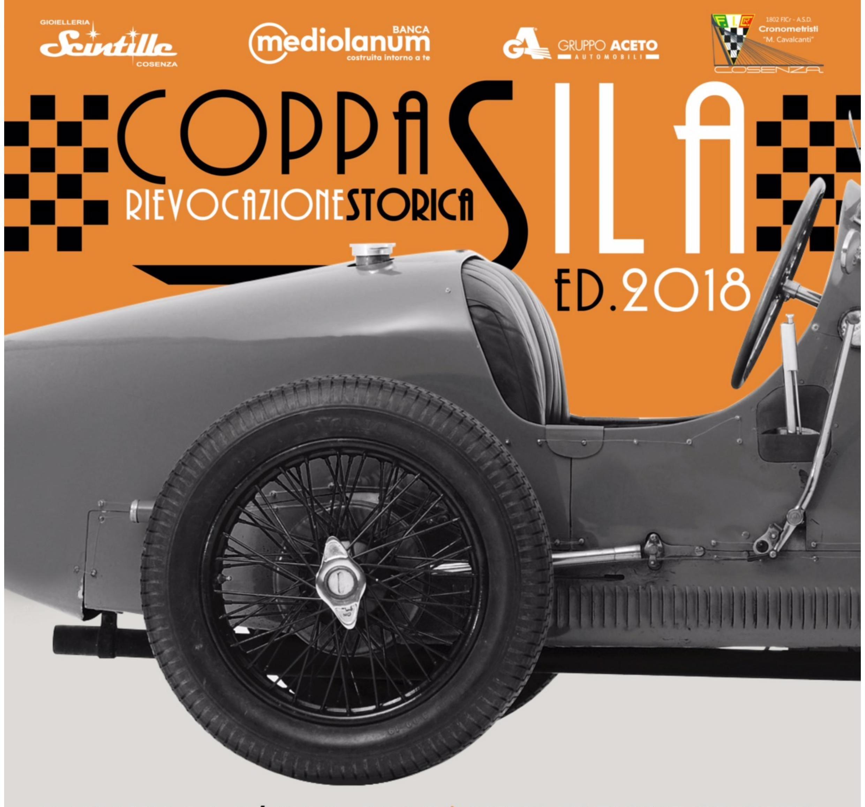 locandina XIII edizione rievocazione storica Coppa Sila