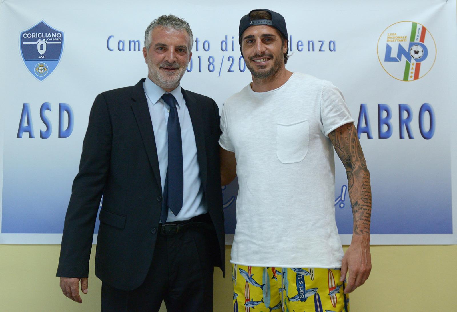 Presidente M. Nucaro e Armando De Simone
