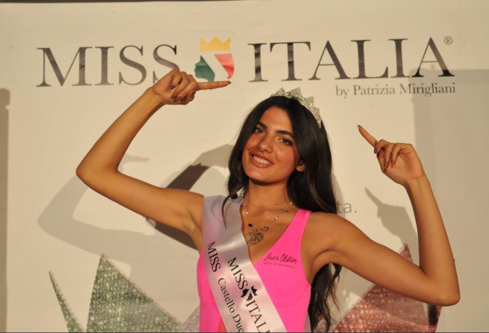 Sara Fasano miss castello ducale