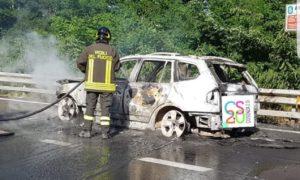 auto incendio