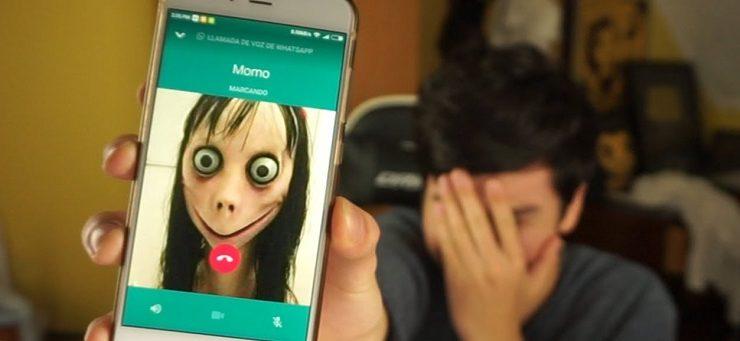 momo whatsapp bufala