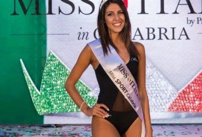 Miss Sport Calabria 2018 Rosy Bertino