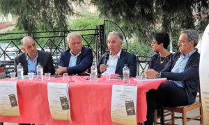 da sx Tonino Martire, Nuccio Martire, Dario Cozza, Francesca Pisani e Rosario Branda