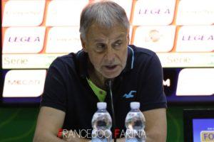 Piero Braglia nel post Cosenza - Livorno