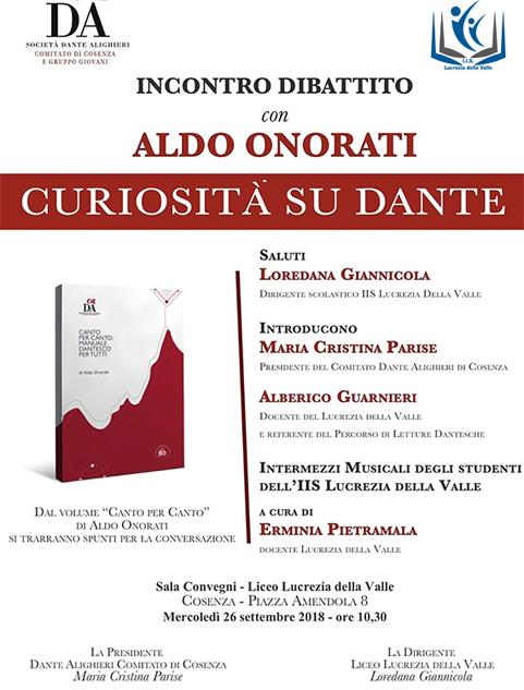 Locandina Curiosità su Dante