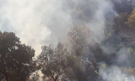 incendio Corigliano