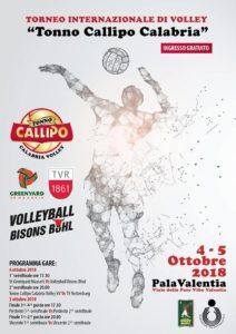 locandina torneo Callipo