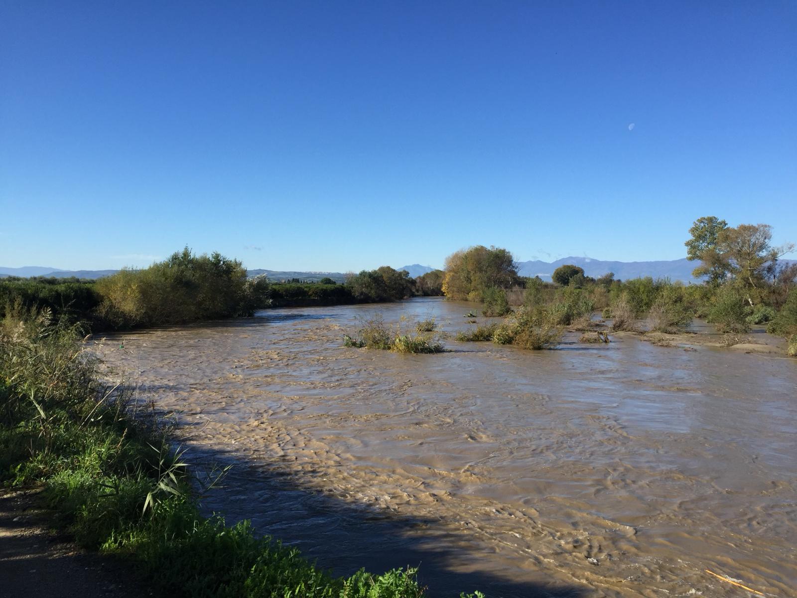 L'onda di piena del fiume Crati 2