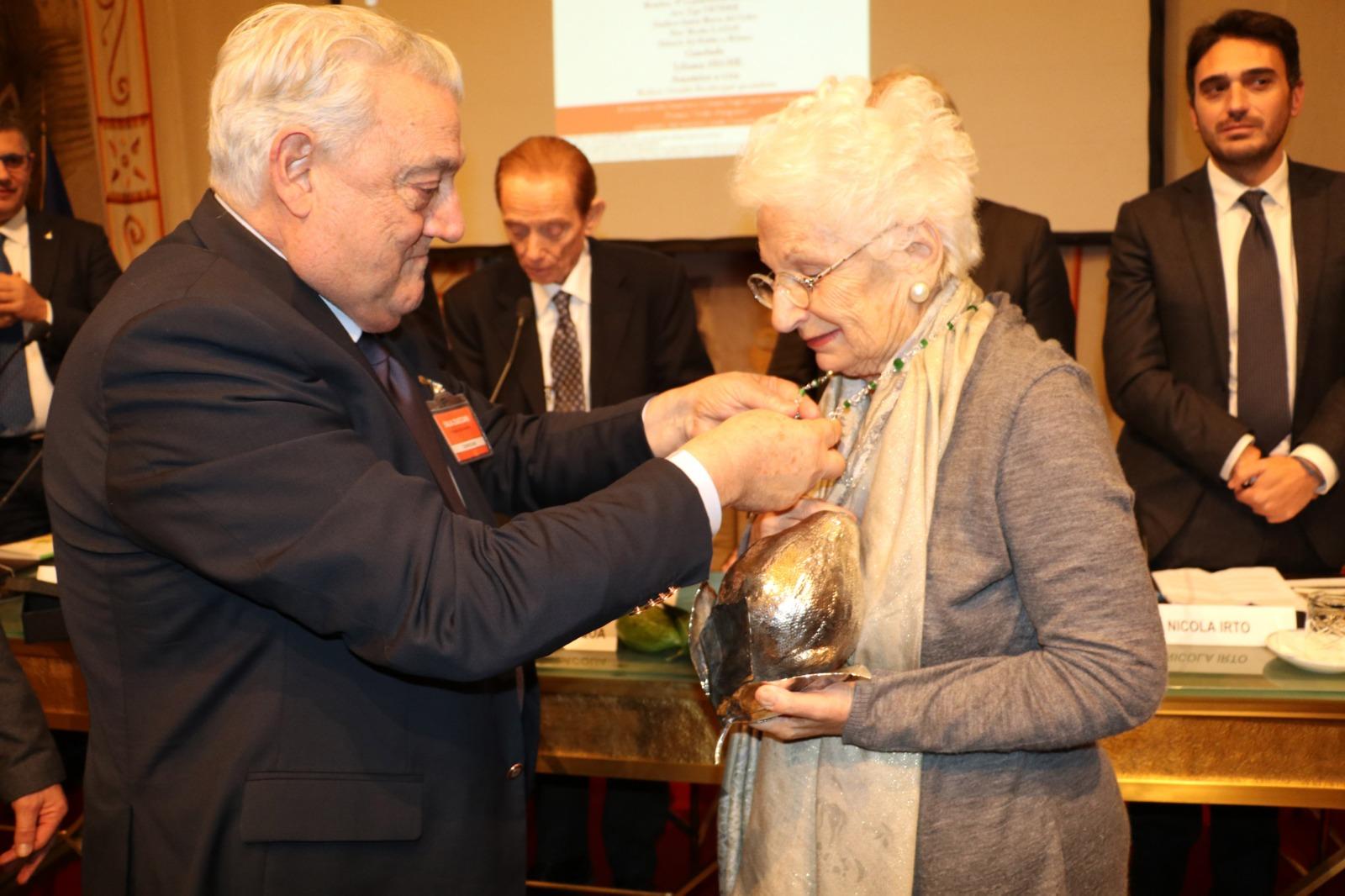 Roma-Senato-Liliana-Segre-Gerardo-Sacco