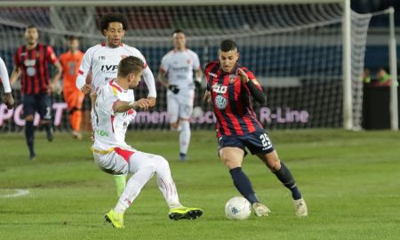 Gennaro Tutino durante Cosenza - Benevento