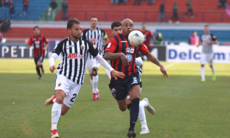 Allan Pierre Baclet durante Cosenza - Ascoli