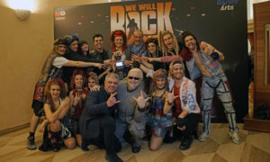 3 - We will rock you - premio gruppo 7