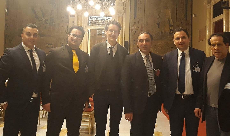 delegazione di tarsia a montecitorio