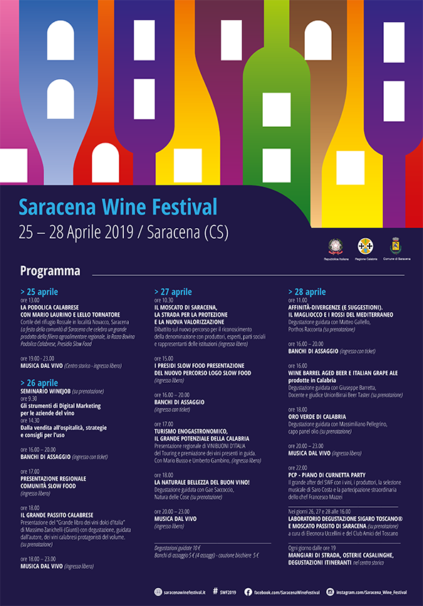 decima edizione Saracena wine festival
