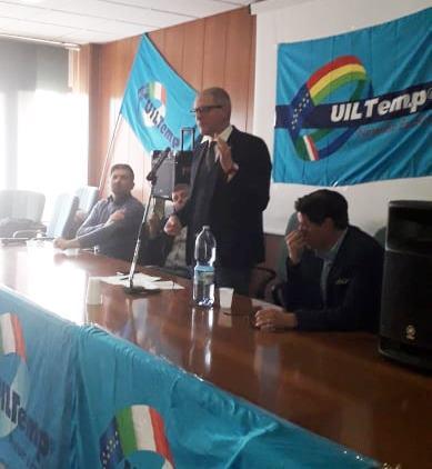 Gianvincenzo Benito Petrassi Segretario Nazionale UIL TEMP
