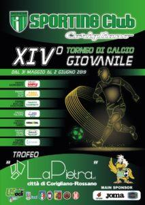 Locandina 14^ Edizione Città di Corigliano-Rossano 2019