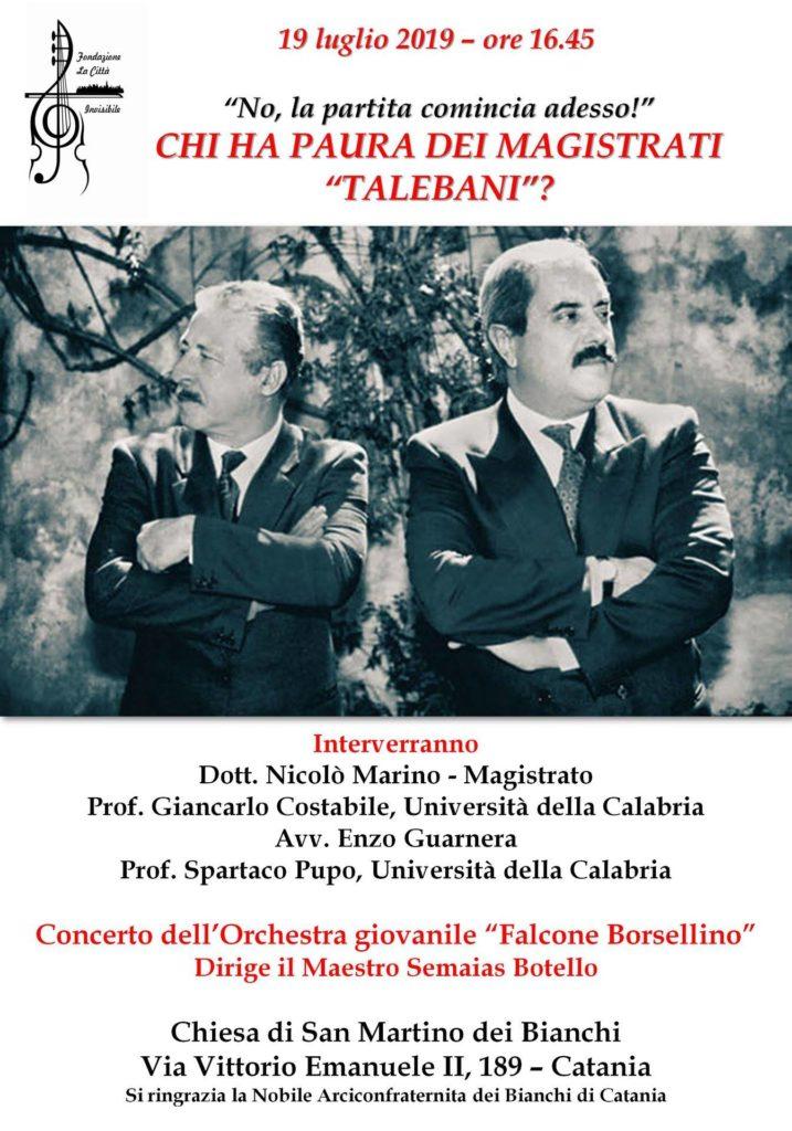 Locandina Catania per Borsellino (1)