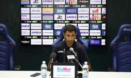 Roberto Occhiuzzi alla vigilia di Cosenza - Pescara (foto sito ufficiale)