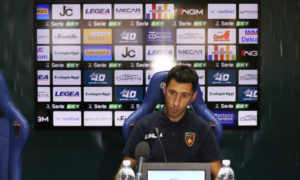 Roberto Occhiuzzi dopo Cosenza Pescara (foto sito ufficiale)